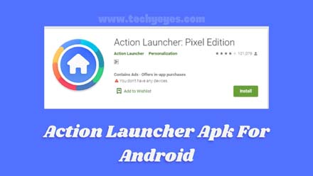Action Launcher Apk For Android