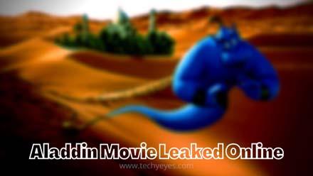 Aladdin Movie Leaked Online