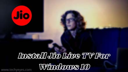 Jio Live TV For Windows