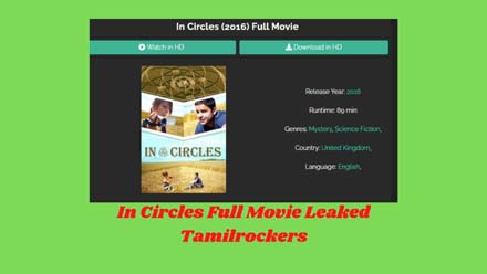 In Circles Full Movie Leaked Tamilrockers