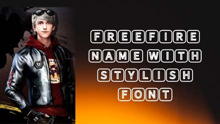FreeFire Name With Stylish Font