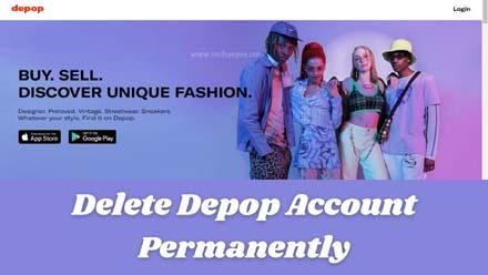 Delete Depop Account