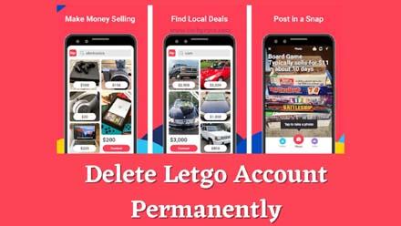 How To Delete Letgo Account Permanently?