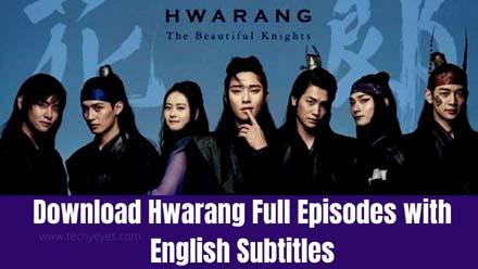 dramafire download hwarang full episodes