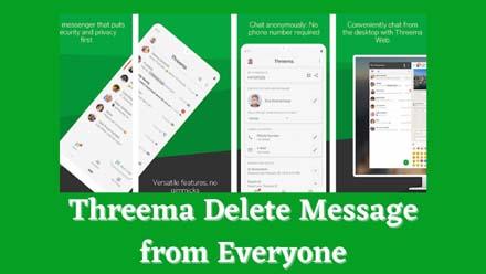 Threema Delete Message from Everyone