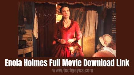 Enola Holmes Full Movie Download Link