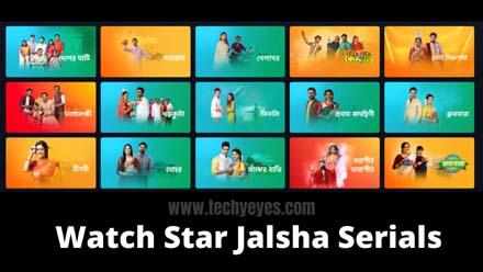 Star Jalsha Serials Live TV on Pc