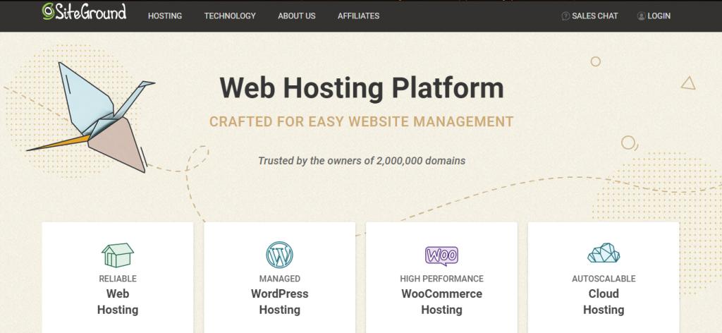 SiteGuard hosting provider