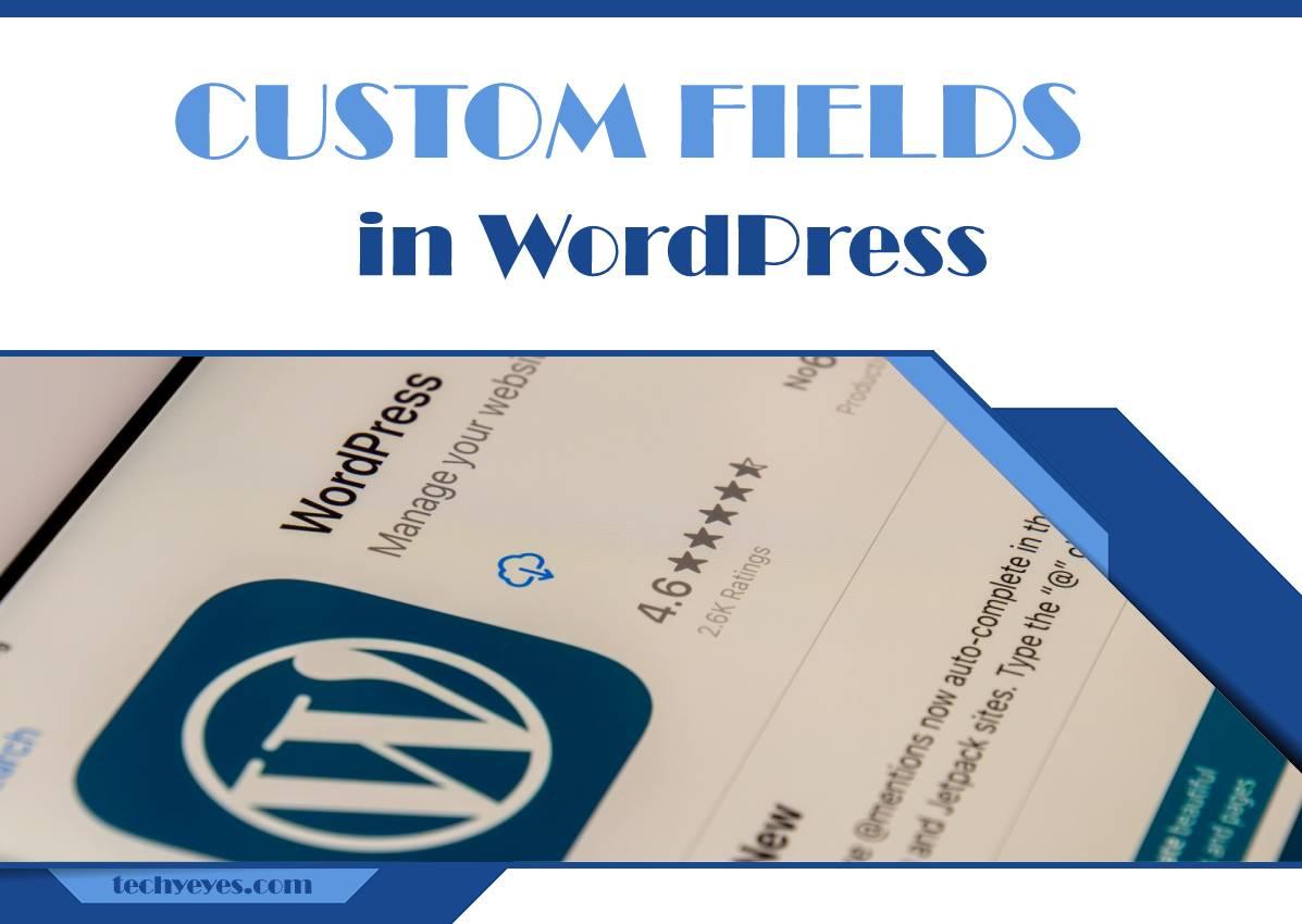 How to Create Custom Fields in WordPress
