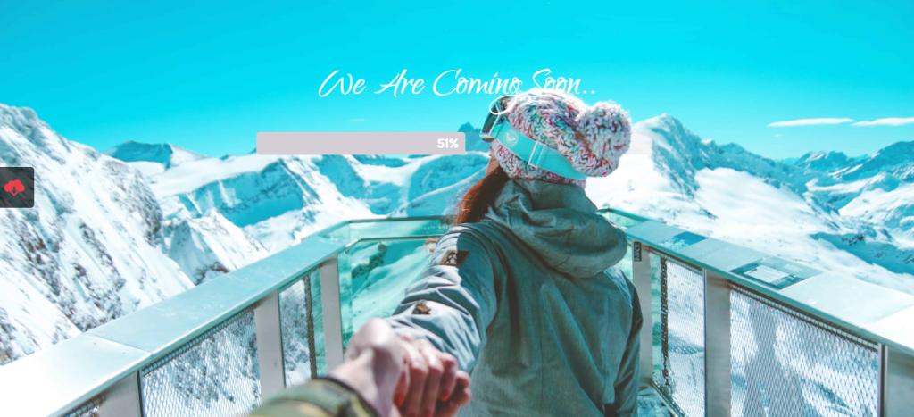 Romantic Travels website template