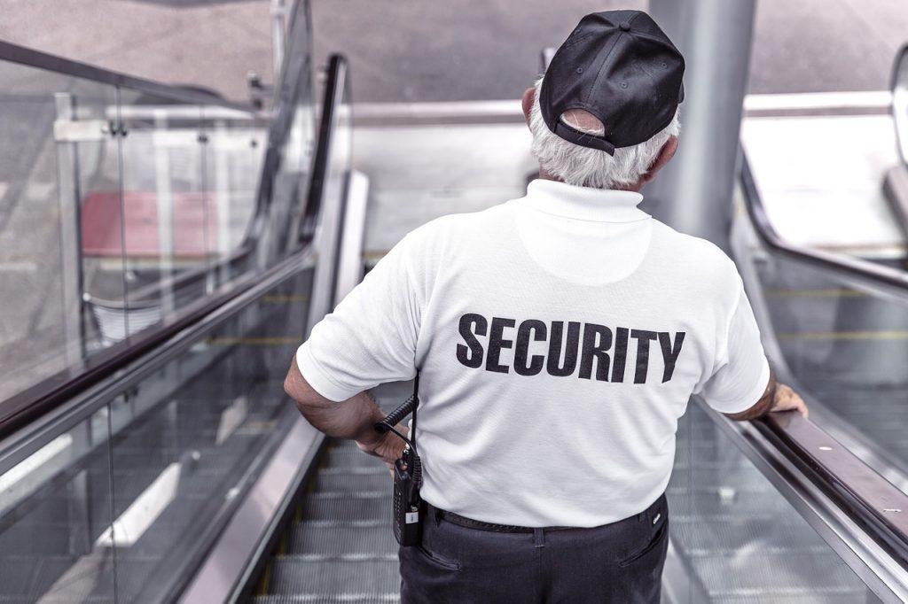 Security man