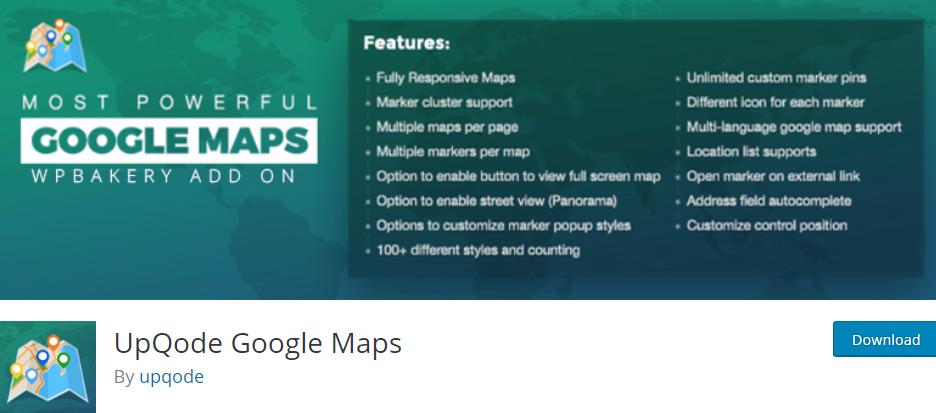 UpQode Google Maps