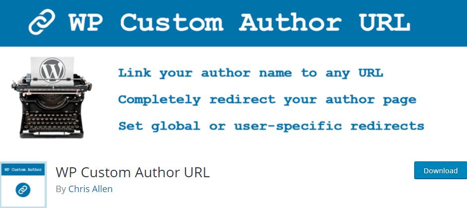 WP Custom Author URL