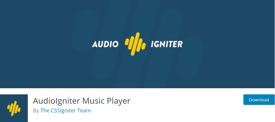 AudioIgniter Music Player