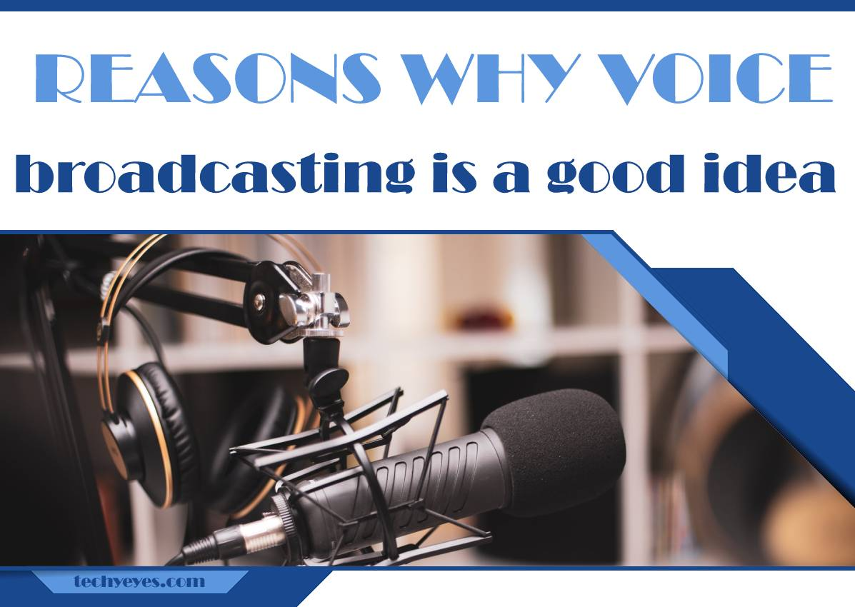 Five Reasons Why Voice Broadcasting Is a Good Idea