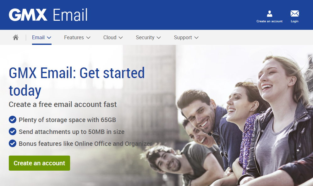 GMX Email
