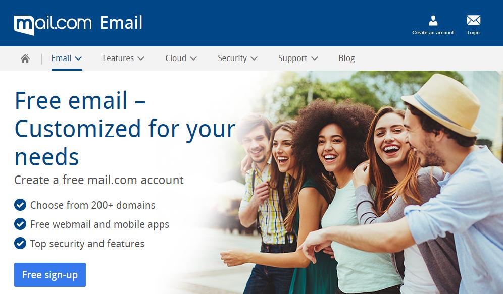 Mail.com Email