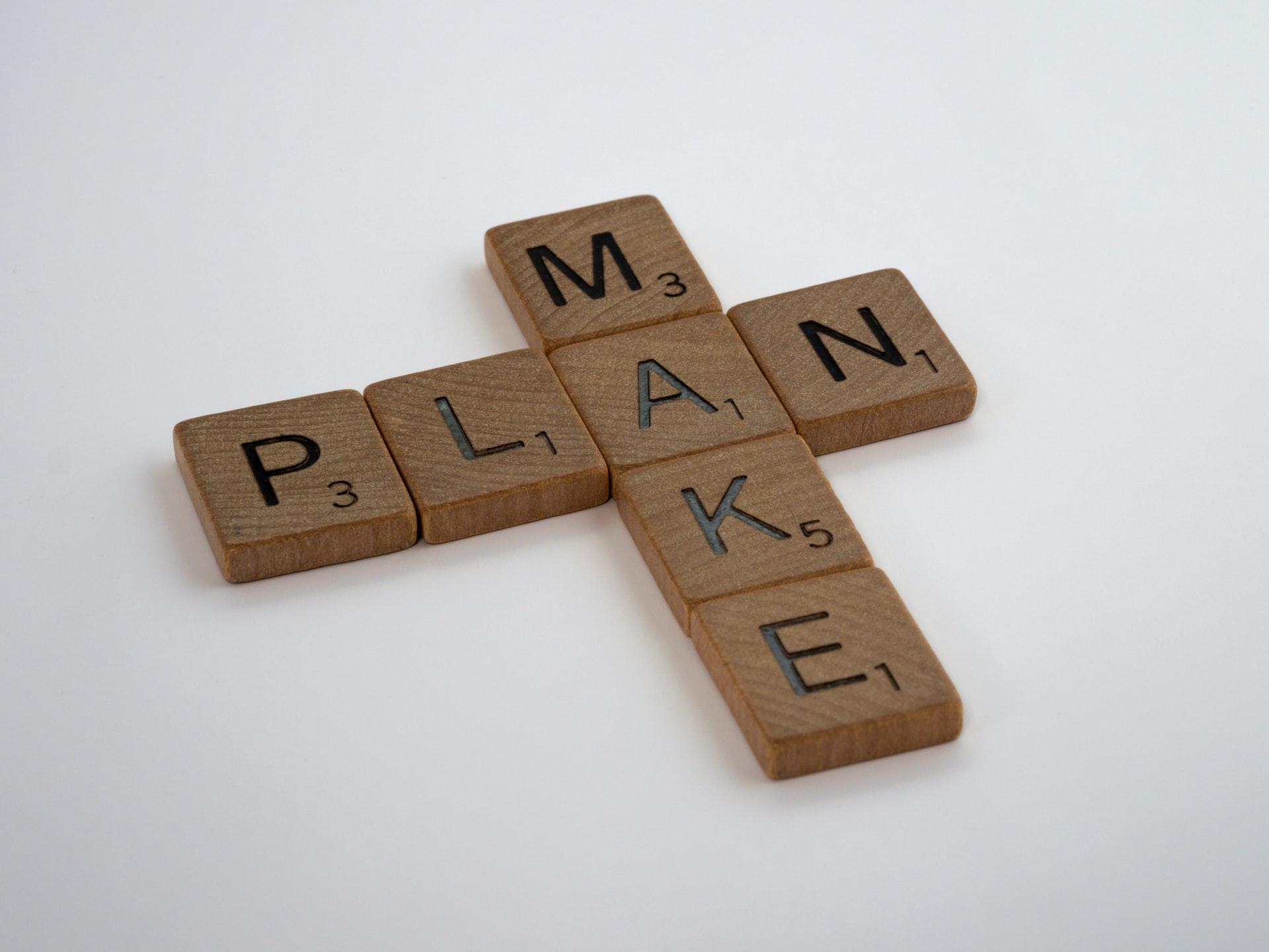 Make plan blocks