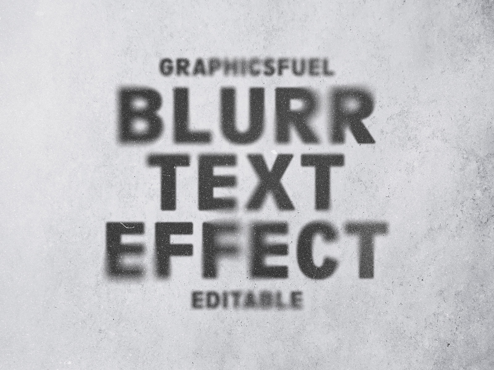 Ghost Blurr Text Effect
